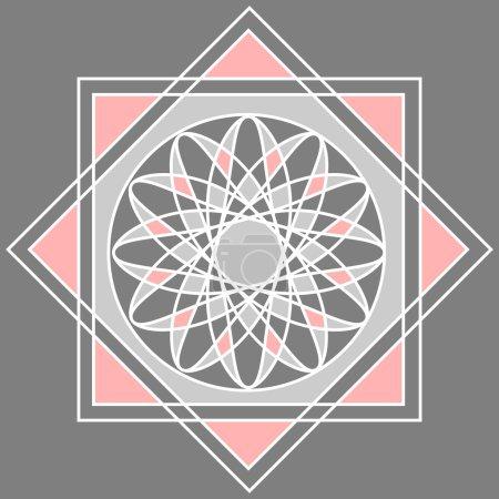 Photo pour Motif géométrique abstrait de la mosaïque. Texture sans couture vectorielle - image libre de droit