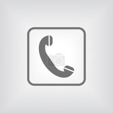 Phone, flat icon