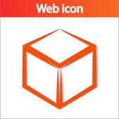 3D ikony logo design krychle