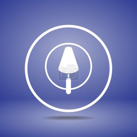 Trowel icon design design
