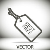 Best PRICE tag icon vector illustration Flat design style