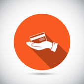 Bank credit card icon