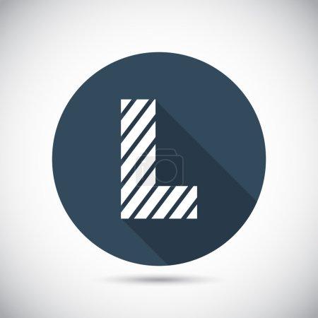 alphabet zèbre lettre L