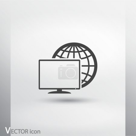 Monitor icon design