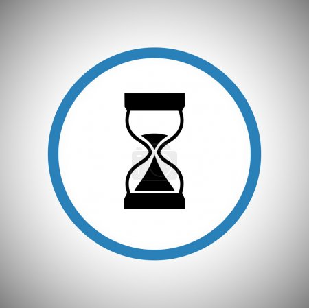 Hourglass icon design