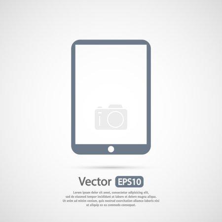 modernes digitales Tablet-PC-Symbol