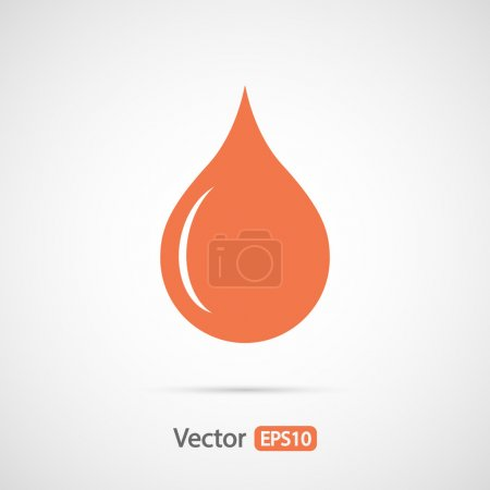 Drop icon design