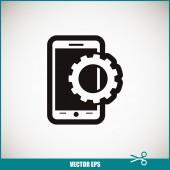 Mobilní smartphone ikona