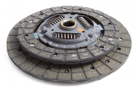 clutch disc on a white background