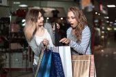 """Постер, картина, фотообои """"Fashion Shopping two ladies Portrait"""""""