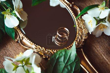 Beautiful a vintage mirror