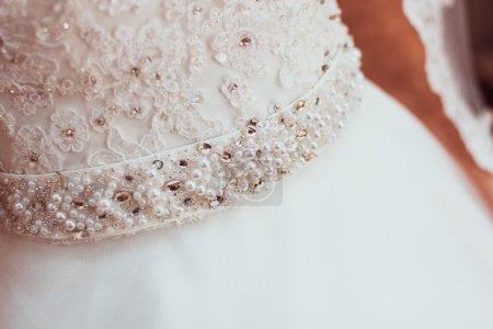 women's wedding accessories. Bride's morning.