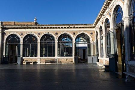 Vatican museum patio