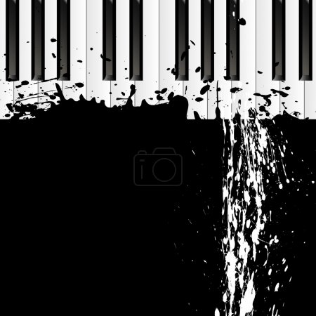 dirty spot on the piano