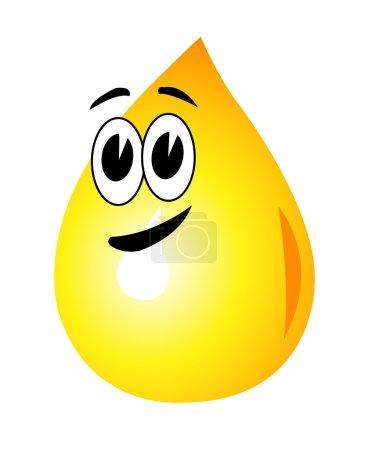A drop of oil