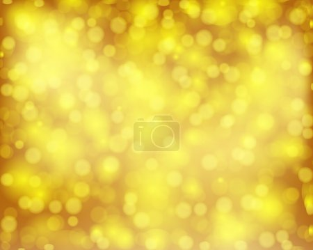 Background bokeh golden brown