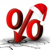 The percentage discounts or low price for the New Year and Chris