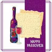 Jewish happy passover holiday abstract background