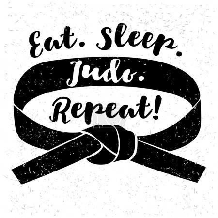 Eat. Sleep. Judo. Repeat! logo