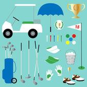 golf theme concept