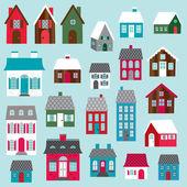 Houses clip art