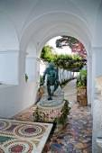 The Villa San Michele at Anacapri on the island of Capri in Italy