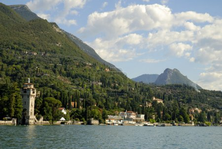 Gardone Riviera on Lake Garda Italy