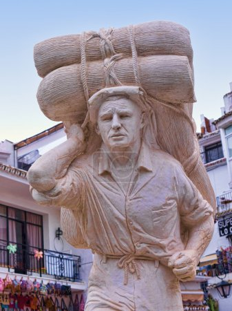 Sculpture in Mijas Spain