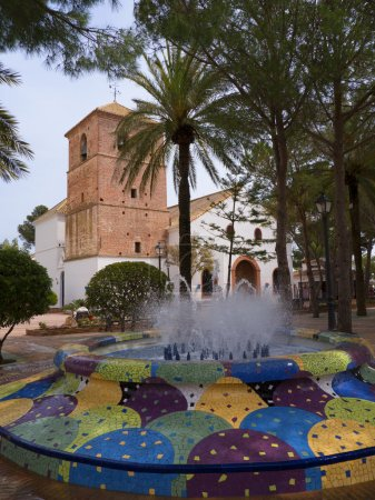 Church in Mijas Spain