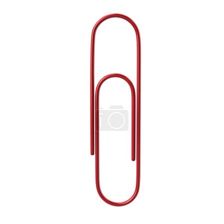 red paper clip icon
