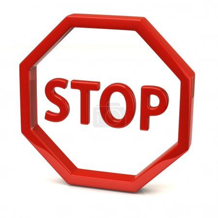 Stop icon  sign