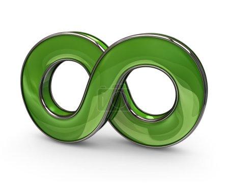 Modern style  infinity symbol