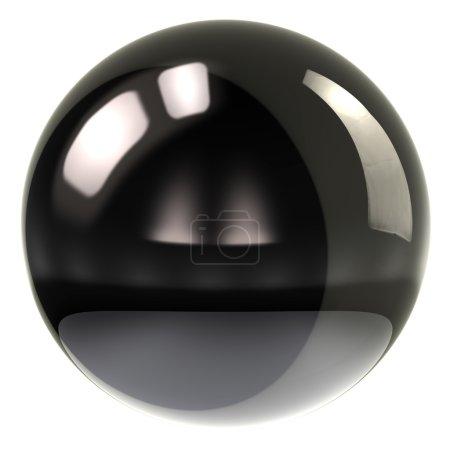 Sphere icon on white