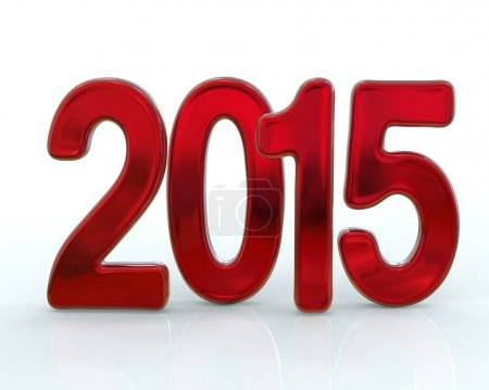 New 2015 year icon