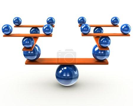 Balance and harmony concept
