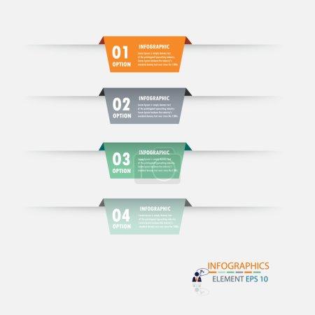 Modern design infographic label element.vector illustrator design background template.