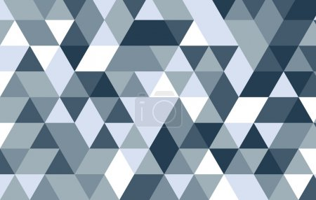 Triangle abstract design background