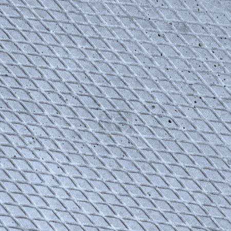 Photo pour Gray estampillé texture plancher béton naturel modelé pour le fond et conception - image libre de droit