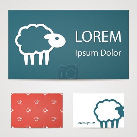 Illustration pour Illustration vectorielle de l'icône de la ferme moderne - image libre de droit