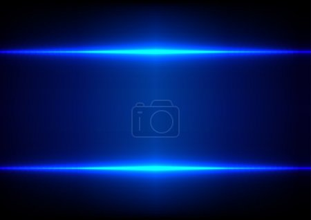 Abstract blue light effect background...
