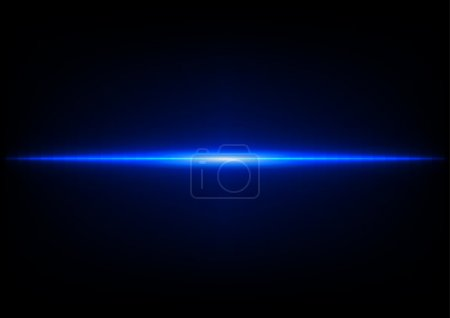 abstract blue light effect concept background