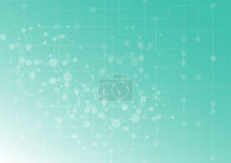 Illustration for Abstract background with connection concept. Vector illustration design - Royalty Free Image