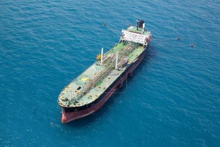 Oil Tanker in the gulf