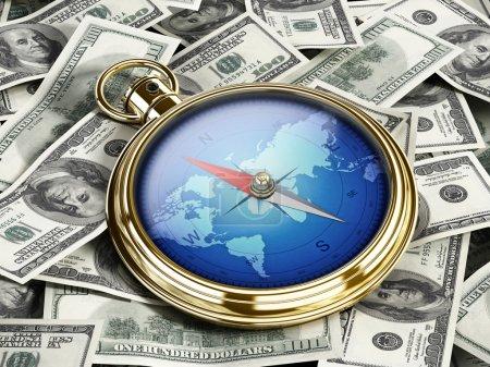 Richtung des Geldes