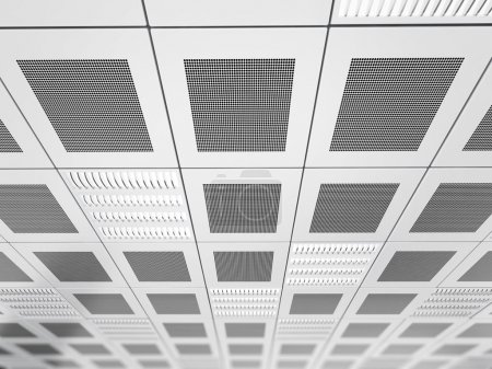 Suspended ceiling background