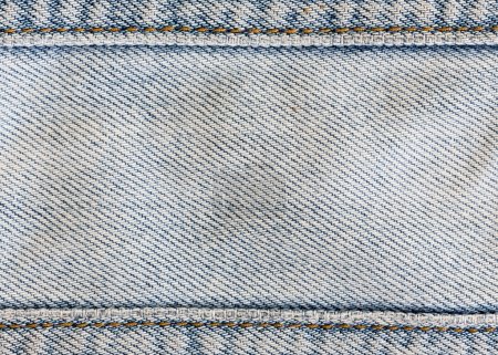 Jeans denim clothing with metal button