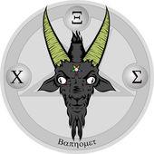 Illustration Of Baphomet Sign