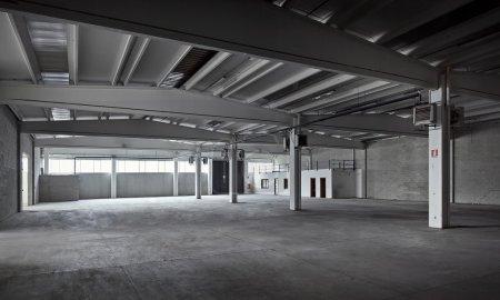 Empty industrial factory