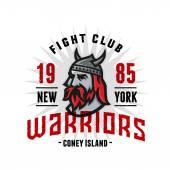 Warriors Fight Club T-shirt Design