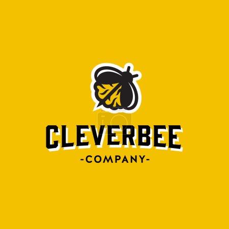 Clever Bee Original Graphic Symbol